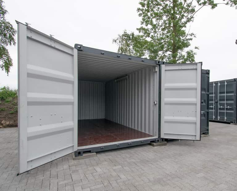 Garagenboxen in Athrazit